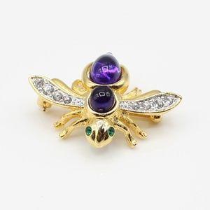 🎉HP🎉 Vintage Joan Rivers bee brooch set